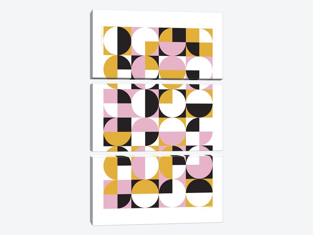 Modern Abstract VII by TomasDesign 3-piece Art Print