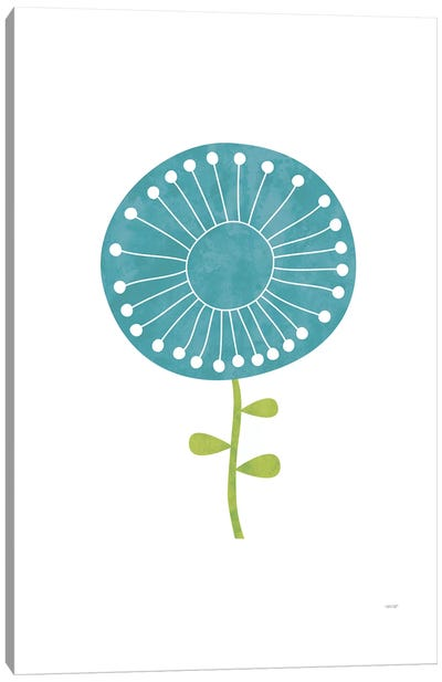 Modern Flowers I Canvas Art Print