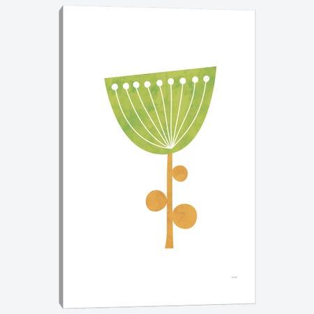 Modern Flowers III Canvas Print #TDE53} by TomasDesign Canvas Art