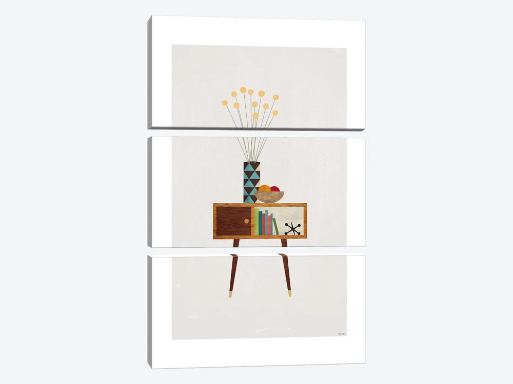 Modern Lounge by TomasDesign 3-piece Canvas Print