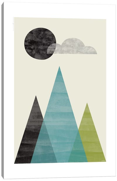 Mountains I Canvas Art Print