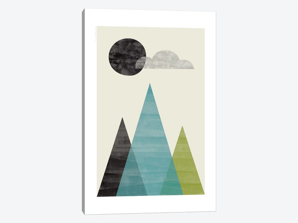 Mountains I by TomasDesign 1-piece Art Print