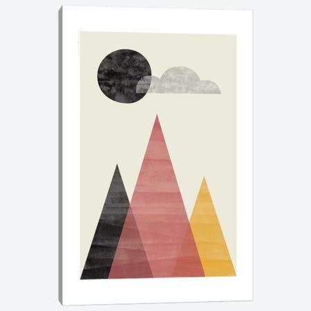 Mountains II Canvas Print #TDE57} by TomasDesign Canvas Art Print
