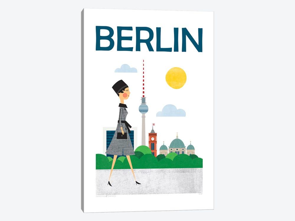 Berlin by TomasDesign 1-piece Canvas Wall Art