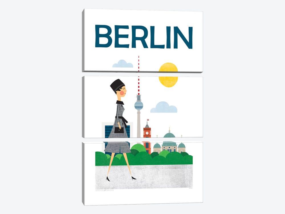 Berlin by TomasDesign 3-piece Canvas Art
