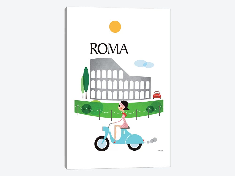 Roma by TomasDesign 1-piece Canvas Artwork