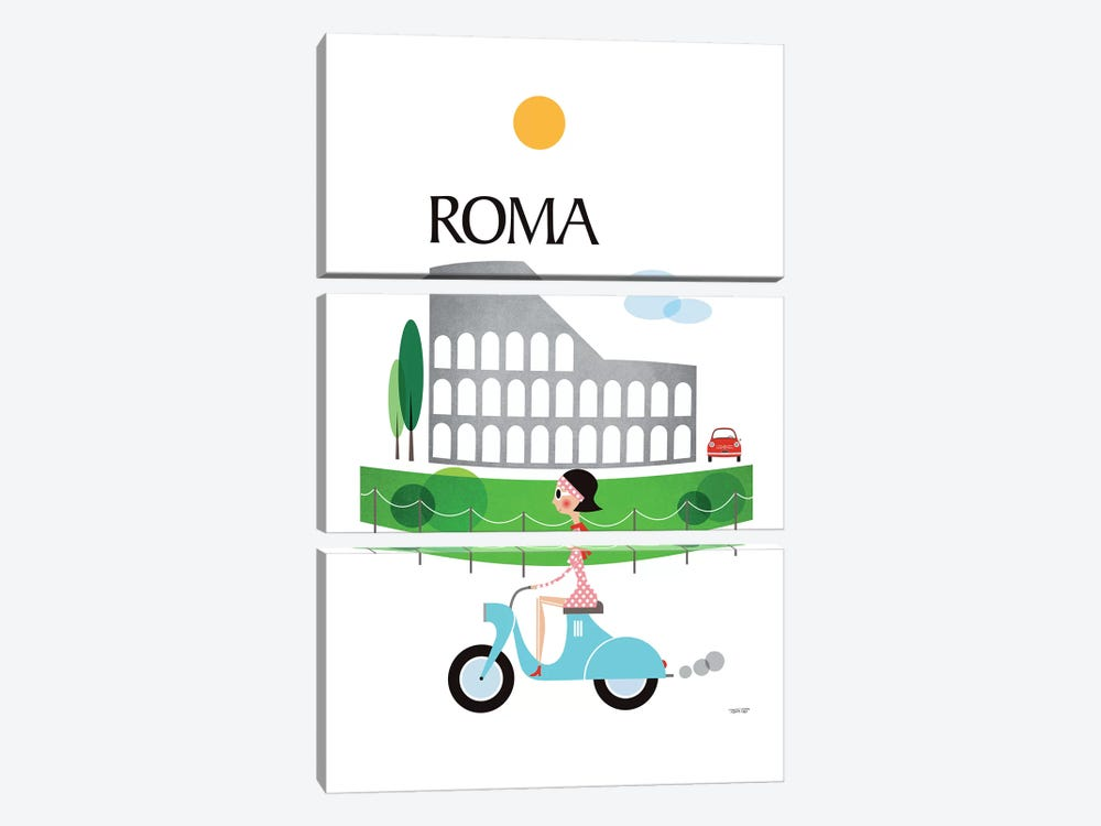 Roma by TomasDesign 3-piece Canvas Artwork