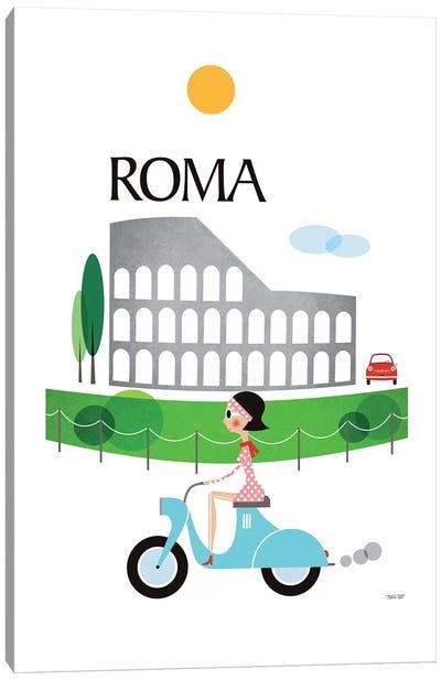 Roma Canvas Art Print