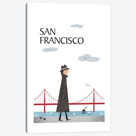 San Francisco 3-Piece Canvas #TDE67} by TomasDesign Canvas Art