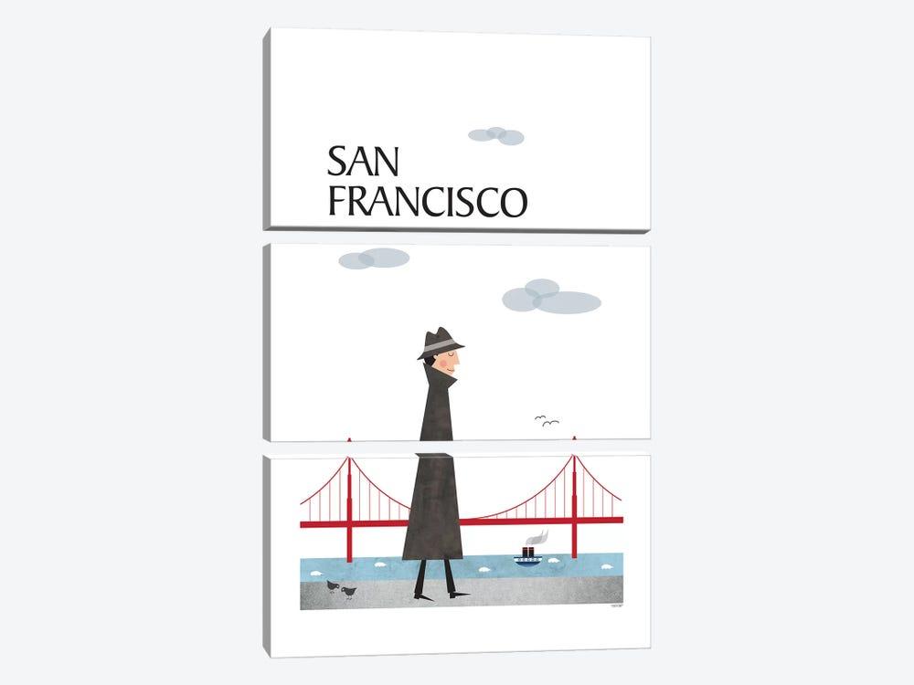 San Francisco by TomasDesign 3-piece Art Print