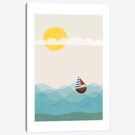 Sea 3-Piece Canvas #TDE69} by TomasDesign Canvas Art Print