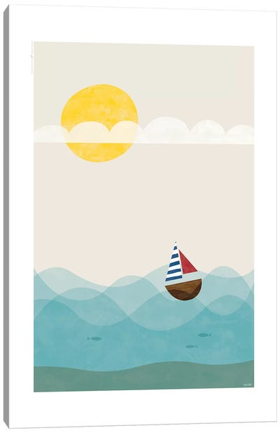 Sea Canvas Art Print