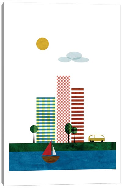 Skyscrapers Canvas Art Print