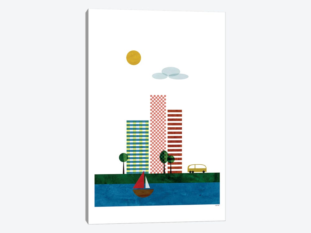 Skyscrapers by TomasDesign 1-piece Art Print