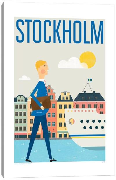 Stockholm Canvas Art Print