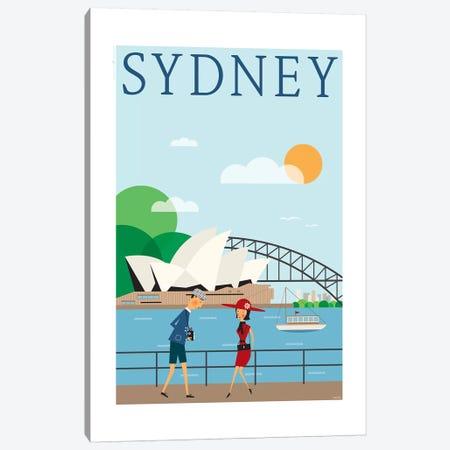 Sydney Canvas Print #TDE78} by TomasDesign Canvas Wall Art