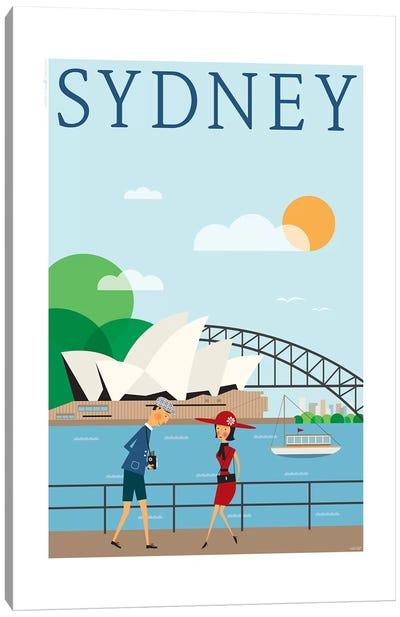 Sydney Canvas Art Print