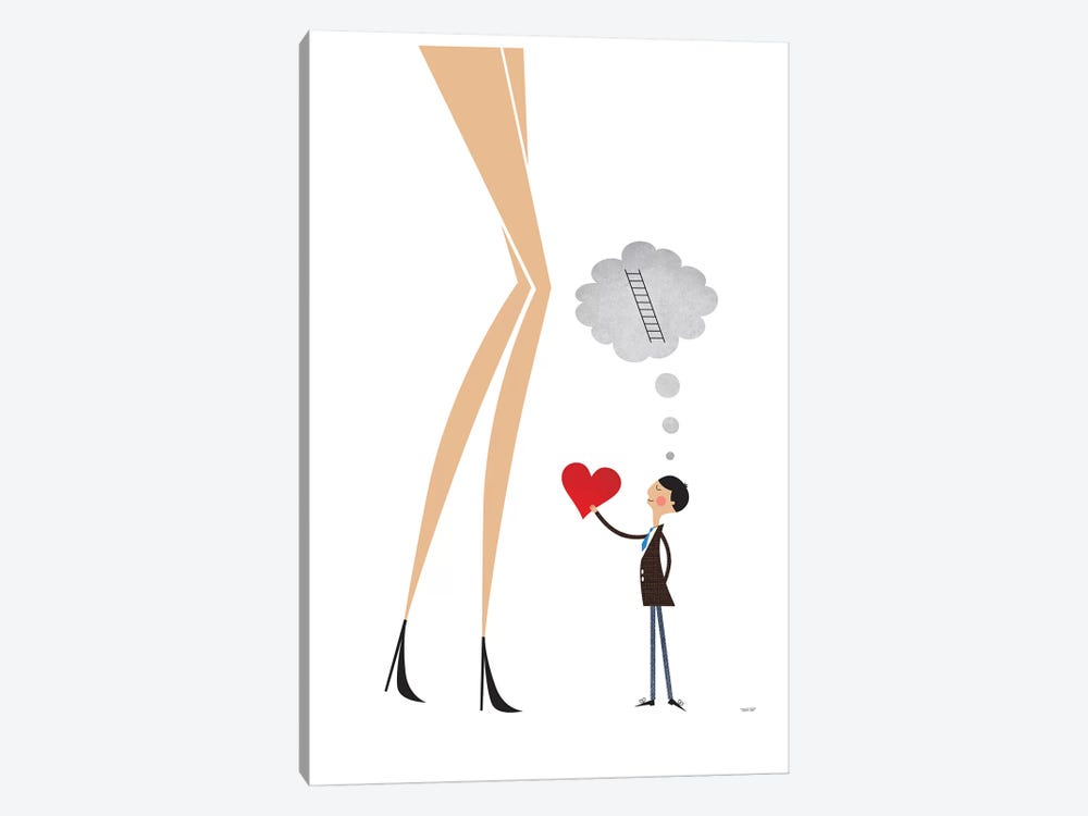 Unrequited Love by TomasDesign 1-piece Canvas Art