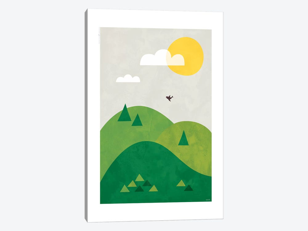 Valley by TomasDesign 1-piece Art Print