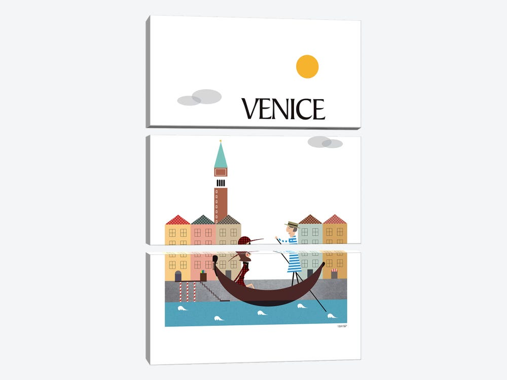 Venice by TomasDesign 3-piece Canvas Art