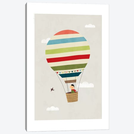 Balloon 3-Piece Canvas #TDE89} by TomasDesign Canvas Art Print