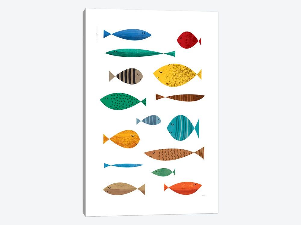 Fish by TomasDesign 1-piece Canvas Print