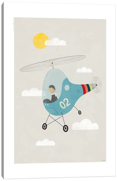 Heli Canvas Art Print