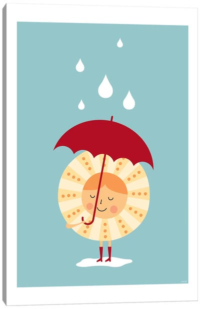Sun In The Rain Canvas Art Print