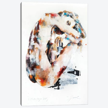 Figure Study 8-25-18 Canvas Print #TDO17} by Thomas Donaldson Canvas Art Print