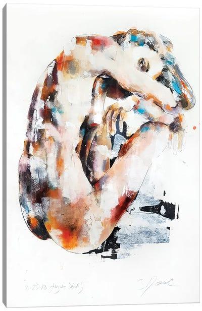 Figure Study 8-25-18 Canvas Art Print