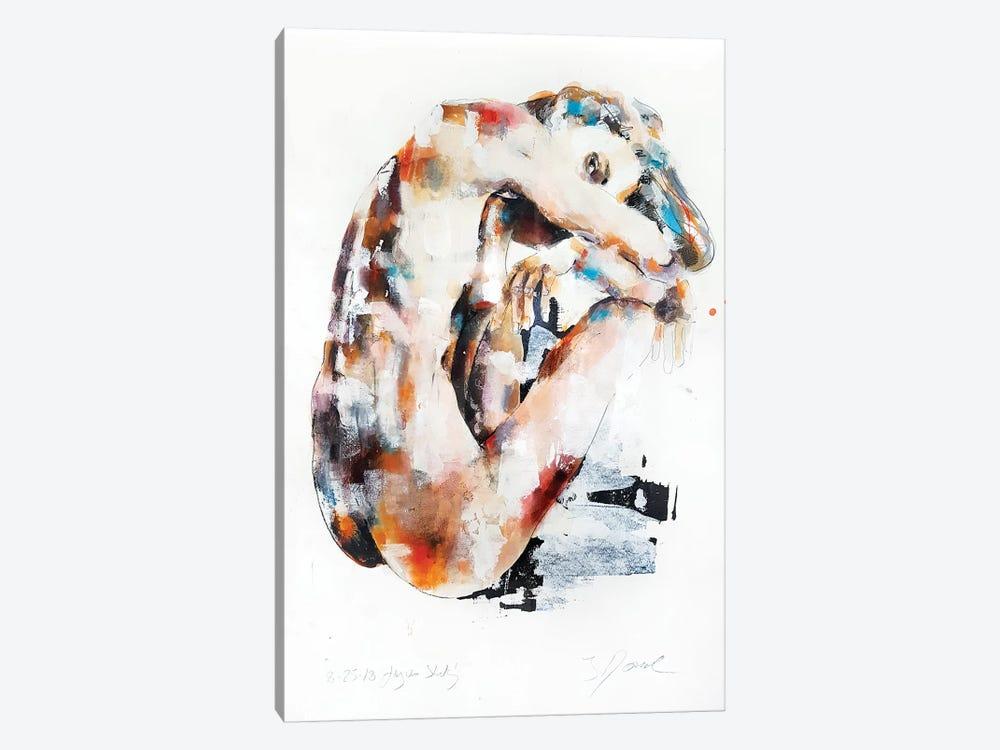 Figure Study 8-25-18 by Thomas Donaldson 1-piece Canvas Art