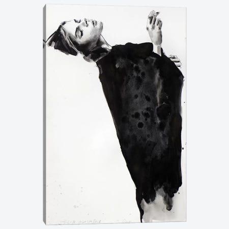 Figure With Black 6-23-14 Canvas Print #TDO19} by Thomas Donaldson Canvas Artwork