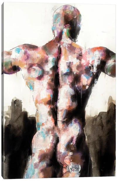 Back Study 10-16-19 Canvas Art Print