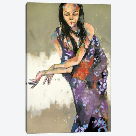 Grace In Kimono 1-15-20 Canvas Print #TDO25} by Thomas Donaldson Canvas Wall Art