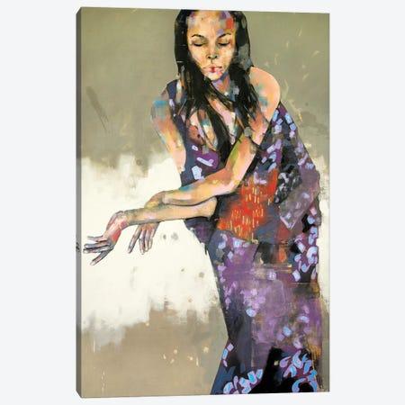 Grace In Kimono 1-15-20 Canvas Print #TDO25} by Thomas Donaldson Canvas Wall Art