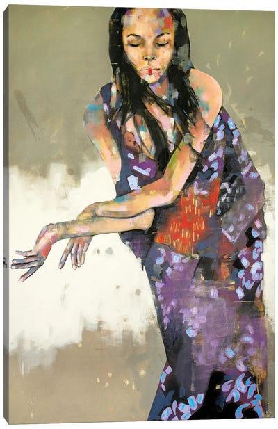 Grace In Kimono 1-15-20 Canvas Art Print