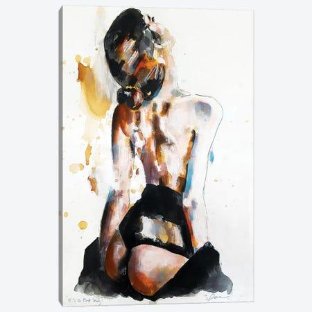 Back Study 12-3-18 Canvas Print #TDO2} by Thomas Donaldson Canvas Art