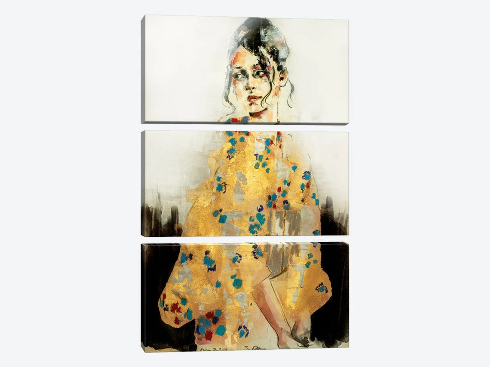 Kimon 7-3-19 by Thomas Donaldson 3-piece Canvas Print