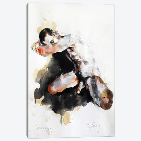 Male Figure 10-11-18 Canvas Print #TDO37} by Thomas Donaldson Canvas Art Print