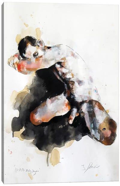 Male Figure 10-11-18 Canvas Art Print