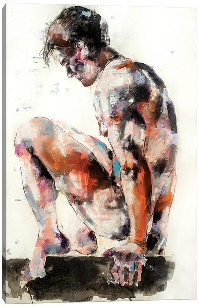 Male Figure 10-14-19 Canvas Art Print