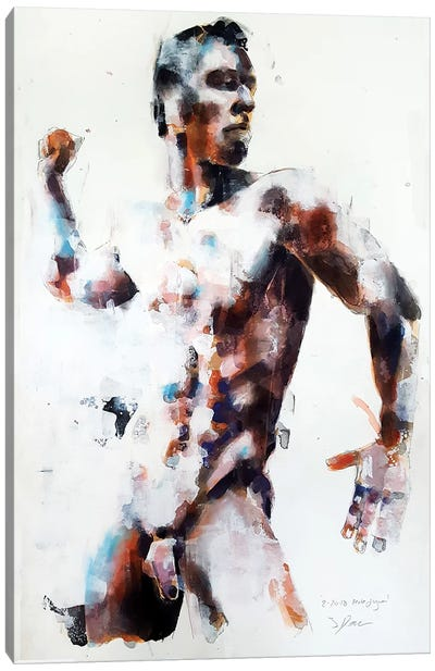 Male Figure 2-20-18 Canvas Art Print