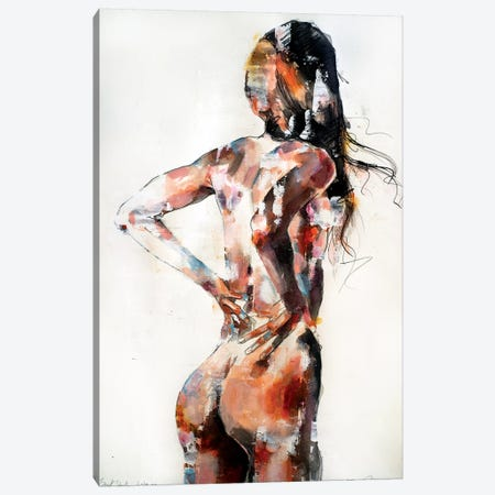 Back Study 6-18-19 Canvas Print #TDO3} by Thomas Donaldson Canvas Art