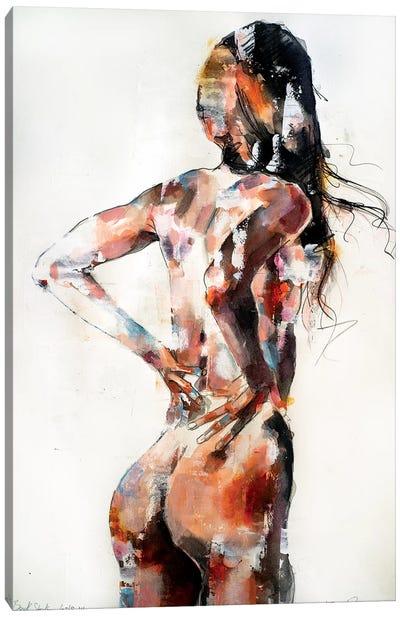 Back Study 6-18-19 Canvas Art Print