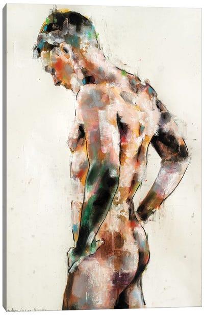 Male Figure 8-1-19 Canvas Art Print