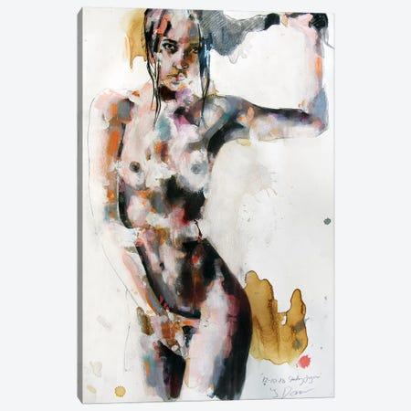 Standing Figure 12-10-18 Canvas Print #TDO46} by Thomas Donaldson Canvas Art