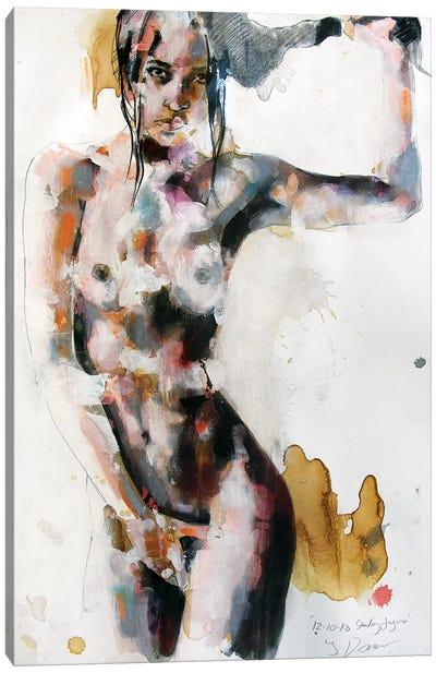Standing Figure 12-10-18 Canvas Art Print