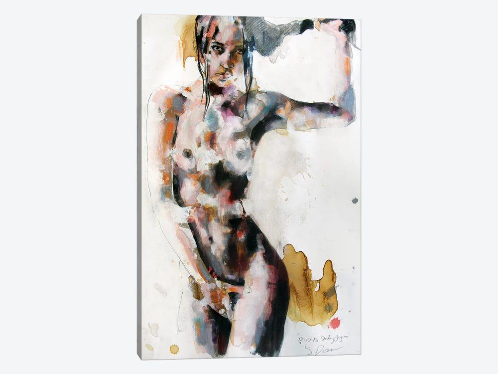 Standing Figure 12-10-18 by Thomas Donaldson 1-piece Canvas Artwork
