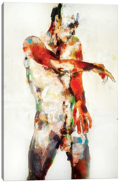Standing Figure 6-25-19 Canvas Art Print