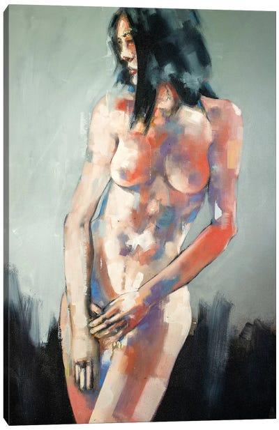 Standing Figure 9-10-19 Canvas Art Print
